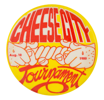 Cheese City Tournament Event Button Museum