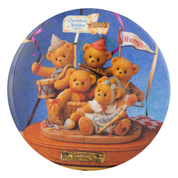 Cherished Teddies Events Button Museum