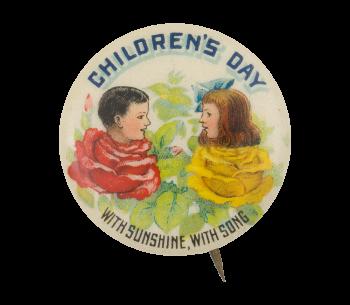 Children's Day Event Button Museum