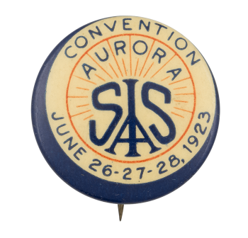 Convention Aurora Event Button Museum
