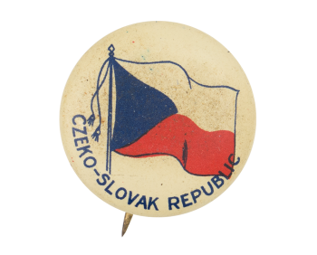Czeko-Slovak Republic Event Button Museum