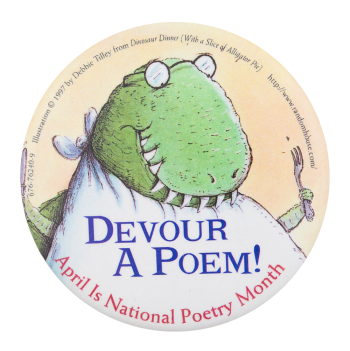Devour a Poem Events Button Museum