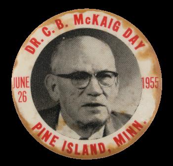 Dr. McKaig Day Events Button Museum
