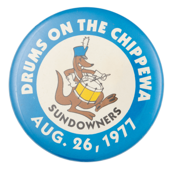 Drums on the Chipewa Event Button Museum