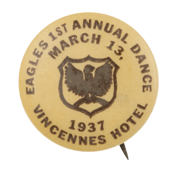 Eagles First Annual Dance Event Button Museum