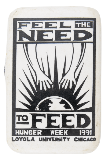 Feel the Need to Feed Event Button Museum