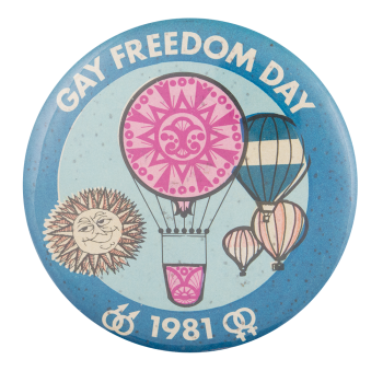 Gay Freedom Day Events Button Museum