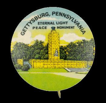 Eternal Light Peace Memorial Event Button Museum