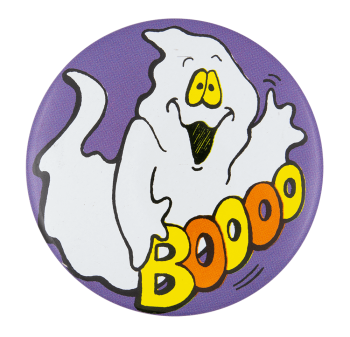 Ghost Boooo Event Button Museum