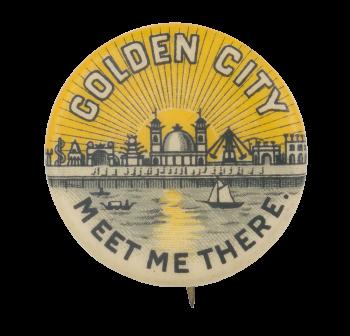 Golden City Event Button Museum