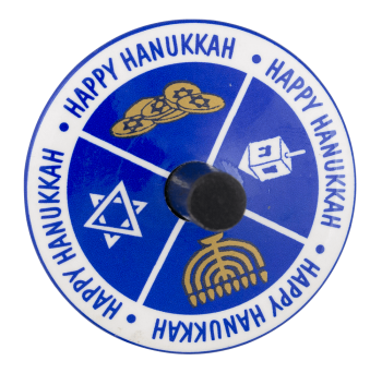 Happy Hanukkah Innovative Button Museum