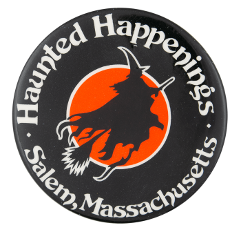 Haunted Happenings Event Button Museum