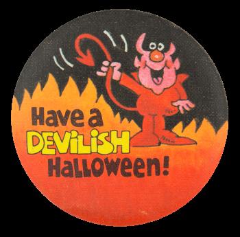 Have a Devilish Halloween  Event Button Museum