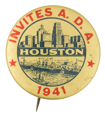 Houston Invites A.D.A. Events Button Museum