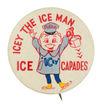 Icey the Ice Man Event Button Museum
