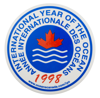 International Year of the Ocean Event Button Museum