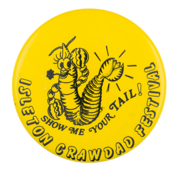 Isleton Crawdad Festival Event Button Museum