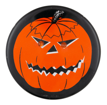 Jack-O-Lantern with Light-up Eyes Innovative Button Museum