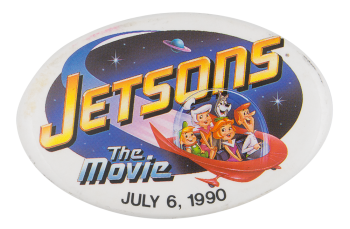 Jetsons The Movie Event Button Museum