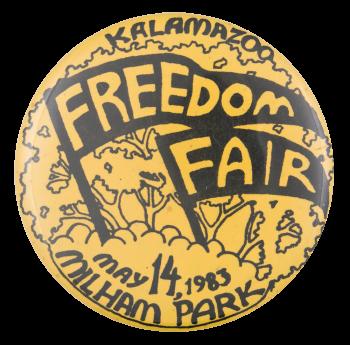 Kalamazoo Freedom Fair Event Button Museum