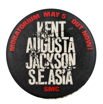 Kent Augusta Jackson S.E. Asia Event Button Museum