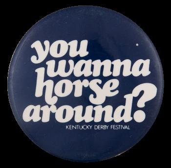 Kentucky Derby Festival Event Button Museum