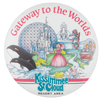 Kissimmee St. Cloud Resort Area Event Button Museum