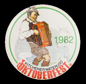 Kitchener Waterloo Oktoberfest Event Button Museum