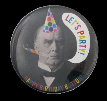 Let's Party Event Button Museum