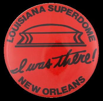 Louisiana Superdome Event Button Museum