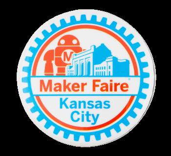 Maker Faire Kansas City Event Button Museum