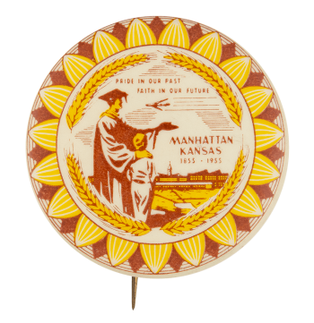 Manhattan Kansas Event Button Museum