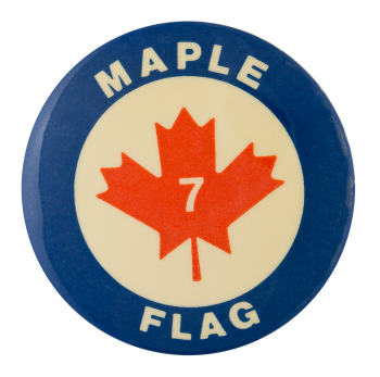 Maple Flag Events Button Museum