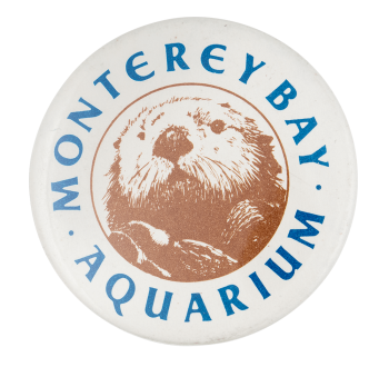 Monterey Bay Aquarium Event Button Museum