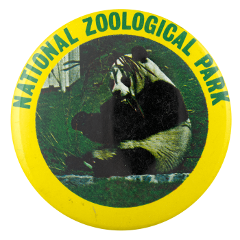 National Zoological Park Panda Event Busy Beaver Button Museum