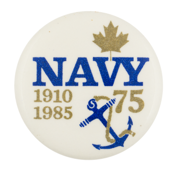 Navy 1910-1985 Event Button Museum