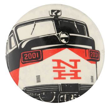 New Haven Railroad Event Button Museum