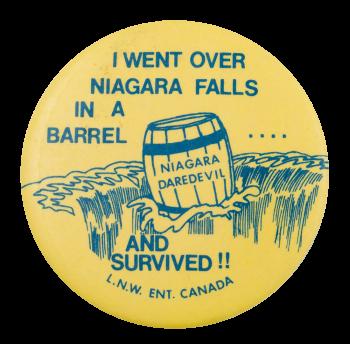 Niagara Daredevil Event Button Museum