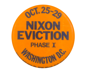 Nixon Eviction Event Button Musem