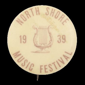 North Shore Music Festival Event Button Museum