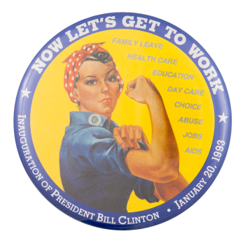 Now Let's Get to Work Event Button Museum