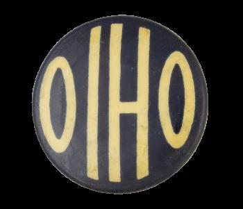 Ohio Blue Event Button Museum