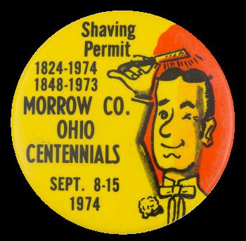 Ohio Centennials Event Button Museum