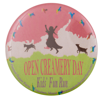 Open Creamery Day Event Busy Beaver Button Museum