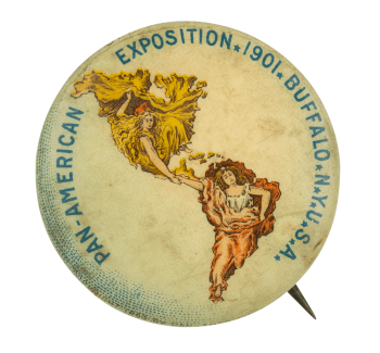 Pan-American Exposition Event Button Museum