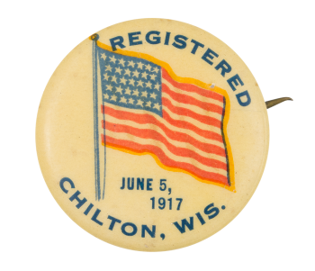 Registered 1917 Event Button Museum