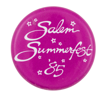 Salem Summerfest Event Button Museum