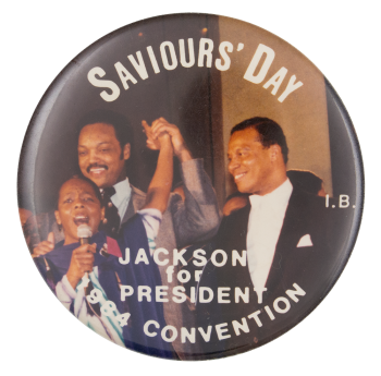 Saviours' Day Event Button Museum
