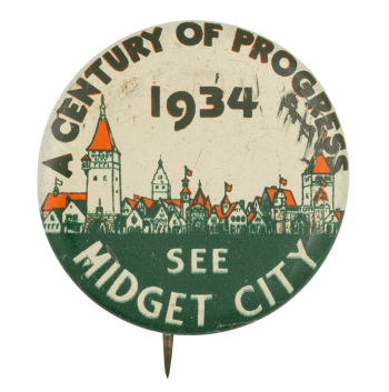 See Midget City Chicago Button Museum