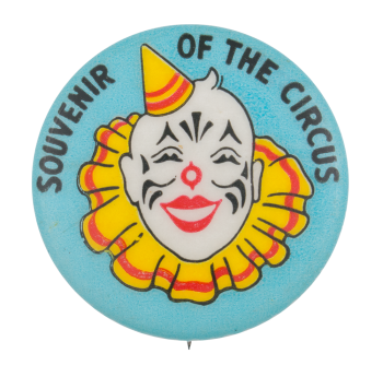 Souvenir of the Circus Small Event Button Museum